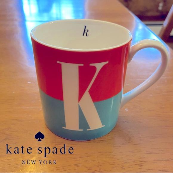 """♠️ Kate Spade """"K"""" Mug"""